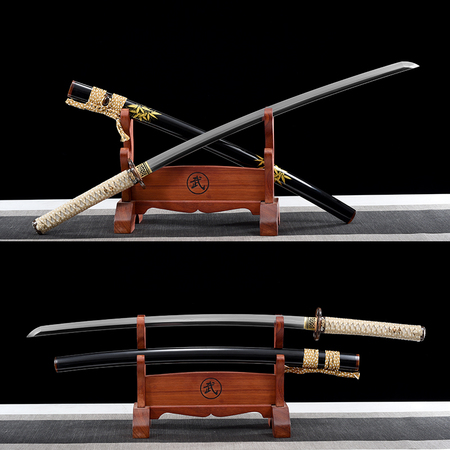 26 inch ground muscle steel burning blade samurai sword